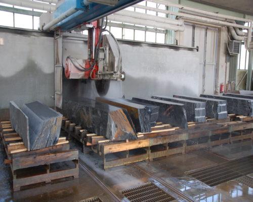 Maschinelle Steinbearbeitung