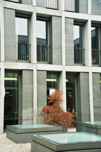 """Erfurt, Bundesarbeitsgericht - Fassadenplatten """"sclypiert"""", Bild: ©Christian Höhn Photodesigner BFF DGPh, Nürnberg"""