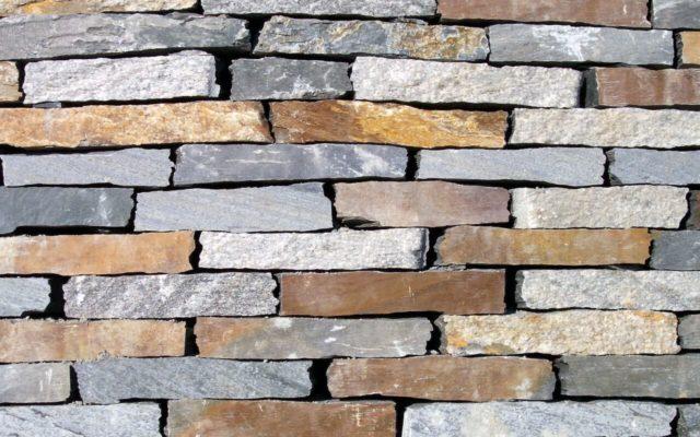 Hammerrechtes Bruchsteinmauerwerk