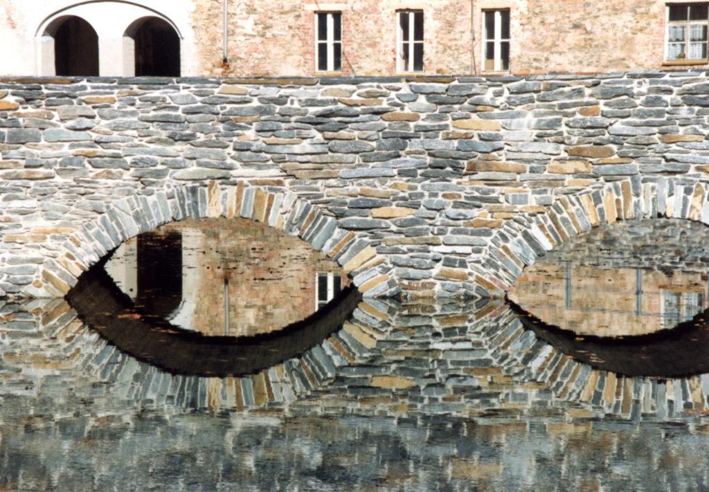 Klaffenbach, Wasserschloss - Bruchsteinmauerwerk