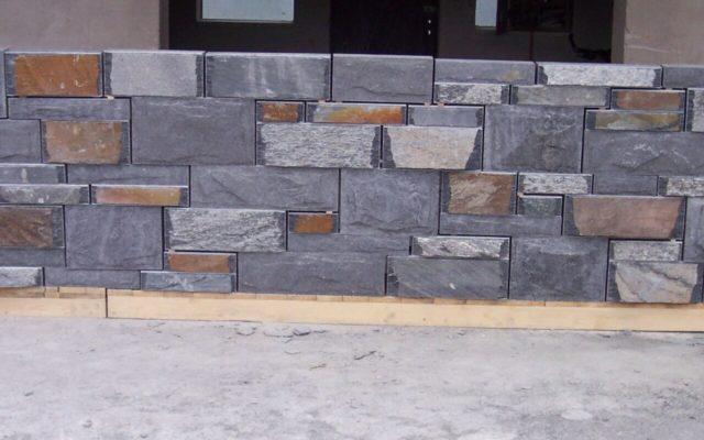 Rustikales Nummeriertes Mauerwerk 2