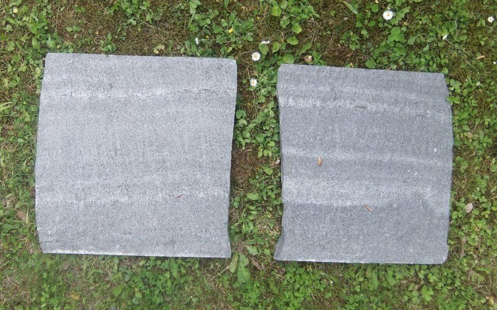"""Trittplatten """"gespalten"""", ca. 43 x 43 cm"""