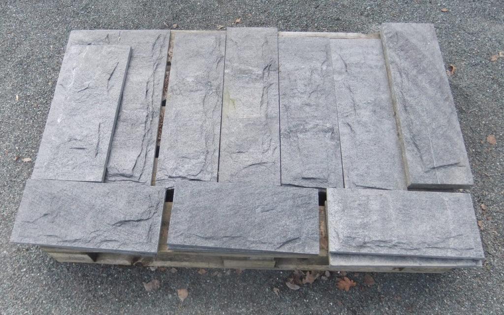 """Verblendsteine """"gespalten & bossiert"""" (18 cm hoch)"""