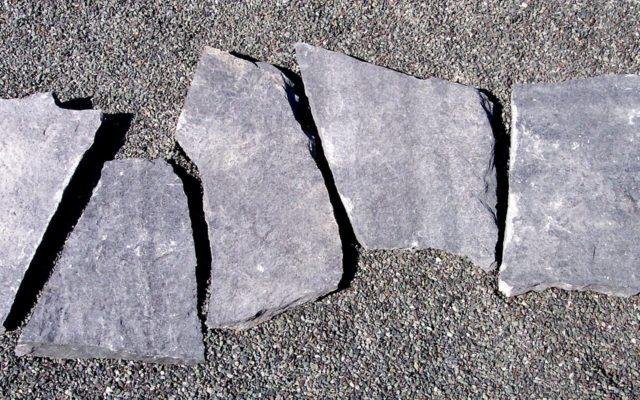 """Polygonale Wegeplatten """"gespalten"""" (Kleinformatige Wegeplatten)"""