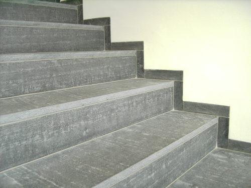 """Dresden, Neubau Firmengebäude DMOS - Stufen, Sockelleisten """"diamantgeschliffen"""""""
