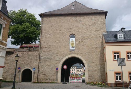 Marienberg, Zschopauer Tor und Stadtmauer – Sanierung Mauerwerk - nachher