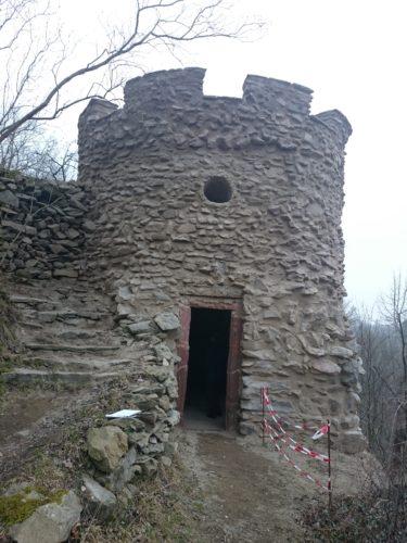Wolkenburg, Schloss – Sanierung Parkwarte - nachher