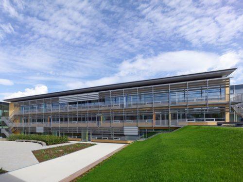Grünwald, Staatliches Gymnasium - Bild: ©Eberhard Franke Fotografie, Neufahrn